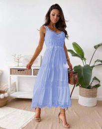 Šaty - kód 4672 - světle modrá