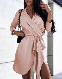 Šaty - kód 2879 - růžova