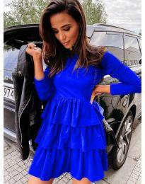 Šaty - kód 3109 - modrá
