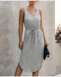 Šaty - kód 681 - šedá