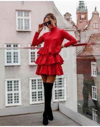 Šaty - kód 2951 - červená