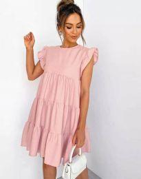 Šaty - kód 2666 - růžová