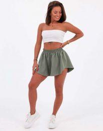 Krátké kalhoty - kód 11979 - olivová  zelená