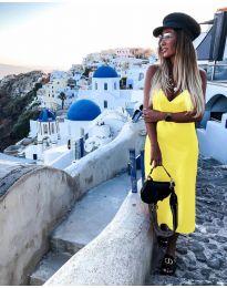 Šaty - kód 0005 - žlutá