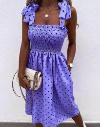 Šaty - kód 4535 - fialová