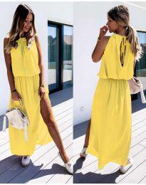 Šaty - kód 708 - žlutá