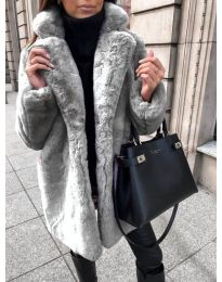 Kabát - kód 187 - šedá