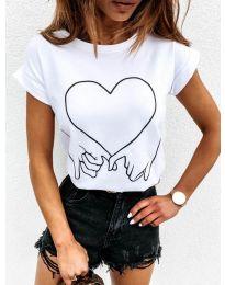 Tričko - kód 2266 - bílá