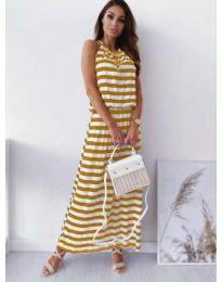 Šaty - kód 1515 - žlutá