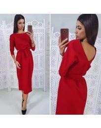 Šaty - kód 974 - červená