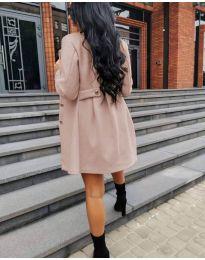 Kabát - kód 6977 - broskvová