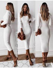 Šaty - kód 928 - bílá
