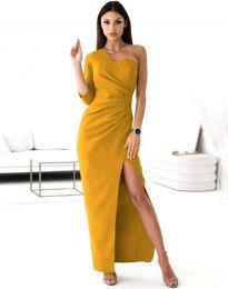 Šaty - kód 4511 - hořčičná