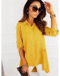 Košile - kód 5689 - žlutá