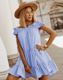 Šaty - kód 6969 - světle modrá