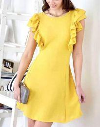 Šaty - kód 7111 - žlutá