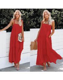 Šaty - kód 551 - červená