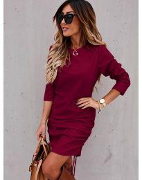 Šaty - kód 8293 - bordeaux