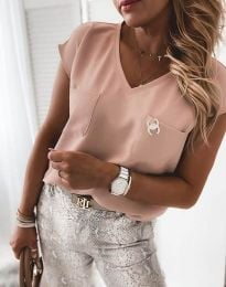 Tričko - kód 6306 - 5 - růžová