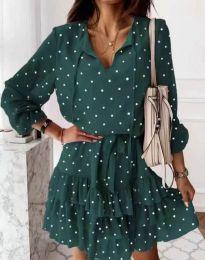 Šaty - kód 7113 - zelená