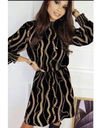 Šaty - kód 623 - černá