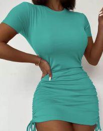 Šaty - kód 5569 - tyrkysový
