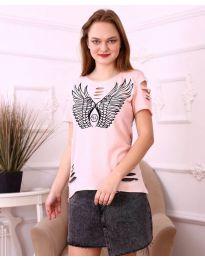 Tričko - kód 3567 - růžova