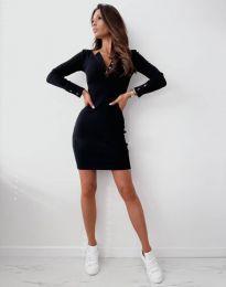 Šaty - kód 1610 - černá