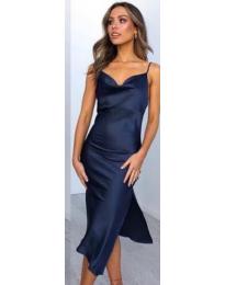 Šaty - kód 7161 - modrý
