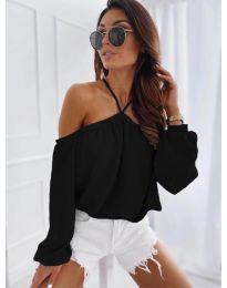 Dámské tričko černé barvy - kód 6561