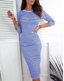 Šaty - kód 4081 - modrá