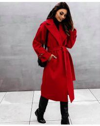 Kabát - kód 410 - červená