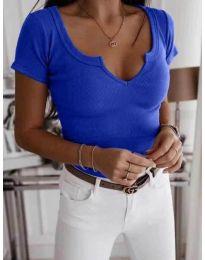 Tričko - kód 3667 - modrý