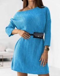 Šaty - kód 5142 - světle modrá