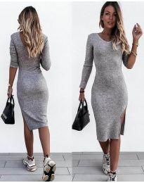 Šaty - kód 884 - šedá