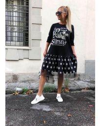 Šaty - kód 5467 - černá