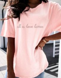 Tričko - kód 36755 - růžová