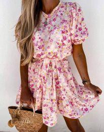 Šaty - kód 6985 - vícebarevné