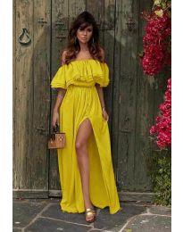 Šaty - kód 3336 - žlutá
