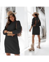 Šaty - kód 129 - černá