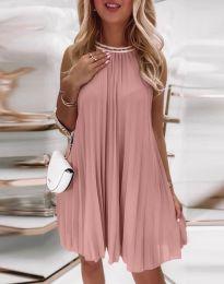 Šaty - kód 0889 - pudrová