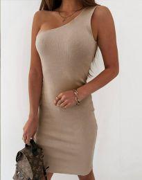 Šaty - kód 11699 - bežová
