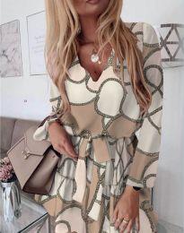 Šaty - kód 566 - bíla