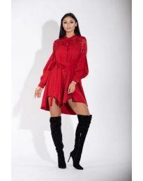 Šaty - kód 128 - červená