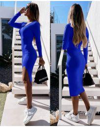 Šaty - kód 8291 - modrá