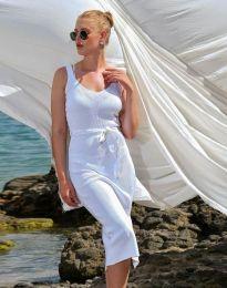 Šaty - kód 2722 - bílá