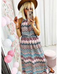 Šaty - kód 9855 - barevné