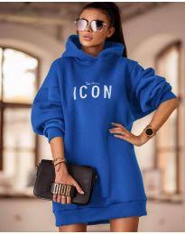 Šaty - kód 9333 - modrá