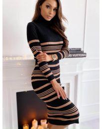 Šaty - kód 5980 - 2 - vícebarevné
