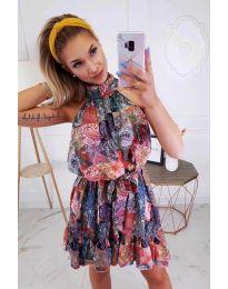 Šaty - kód 1321 - barevné